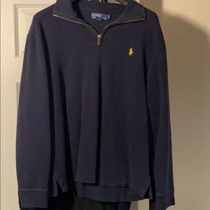 Polo Blue Fleece Sweater